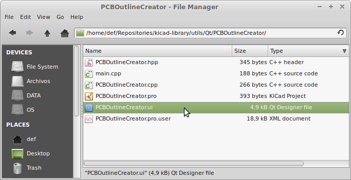 Design the UI with QtCreator · Tutorial PySide/PyQt4